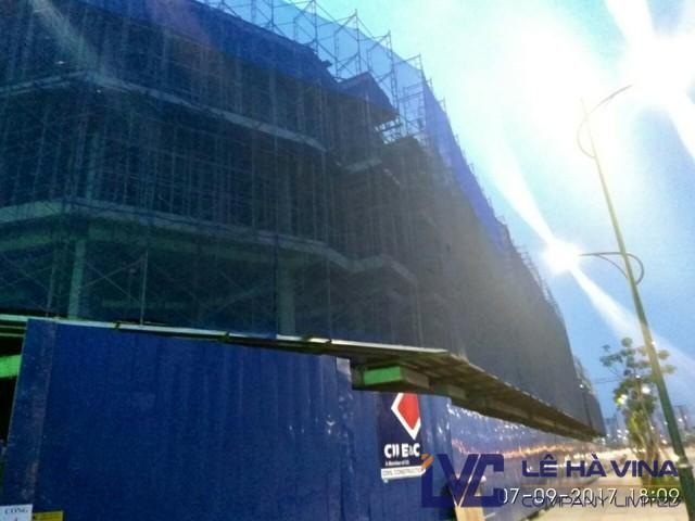 Lưới xây dựng, Lưới bao che xây dựng, Lưới bao che công trình 60g
