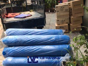 Giá lưới bao che công trình, Lê Hà Vina, Lưới bao che công trình, Lưới công trình nội địa, Mua lưới nhựa công trình